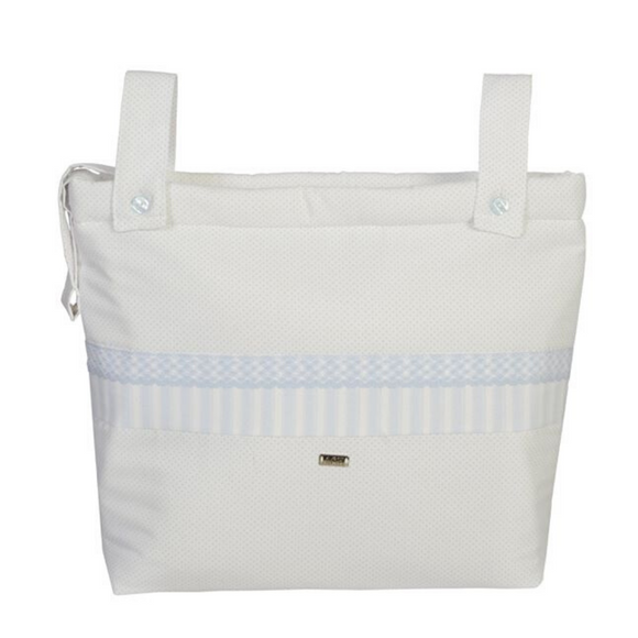 ACH Blue & White Changing Bag