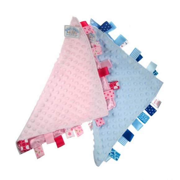 Pink or Blue Taggie Comforter