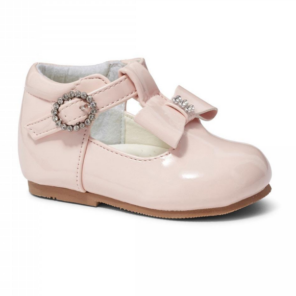 Lilly Pink Patent T Bar Shoe