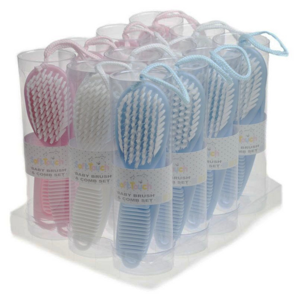 Soft Touch Brush & Comb Set