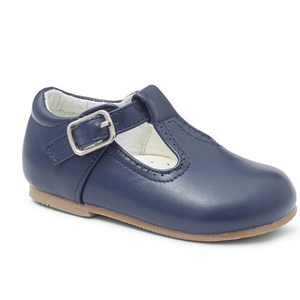 Navy T Bar Shoe