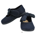 Sardon Girls Navy Knot Shoe