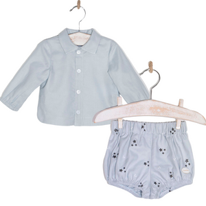 Cocote Baby Boys Two Piece Star Short Set