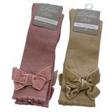Dolce Petit Knee High Bow Socks
