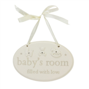 Baby's Room Hanging Plaque