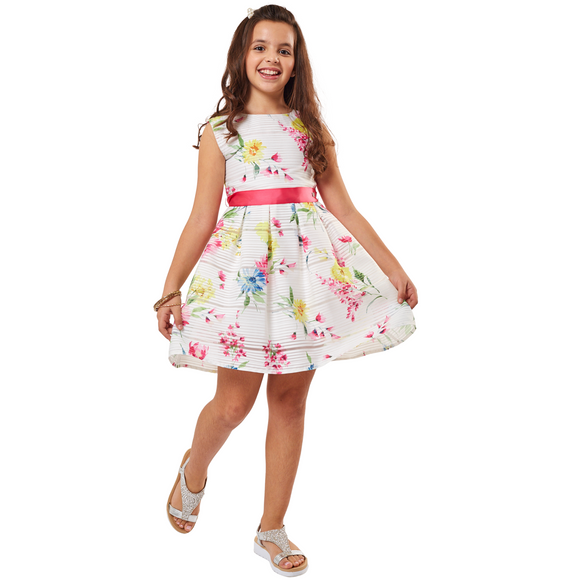 Girls Pink Summer Dress
