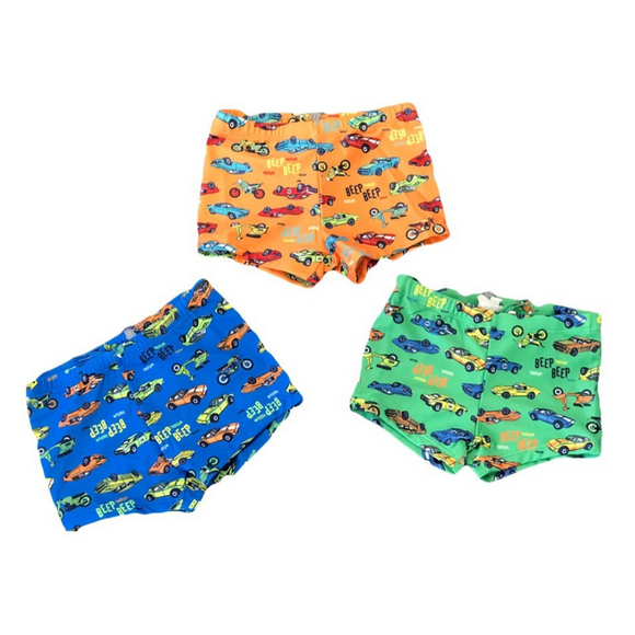 Losan Boys Swim Boxers Cars