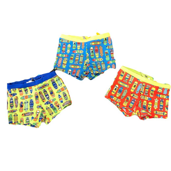 Losan Boys Swim Boxers Skate Boards