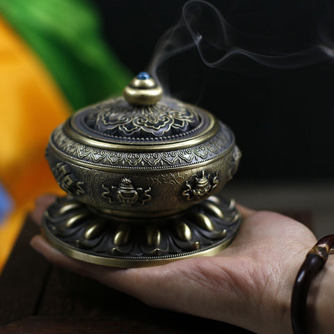 Alloy Copper Incense Burners