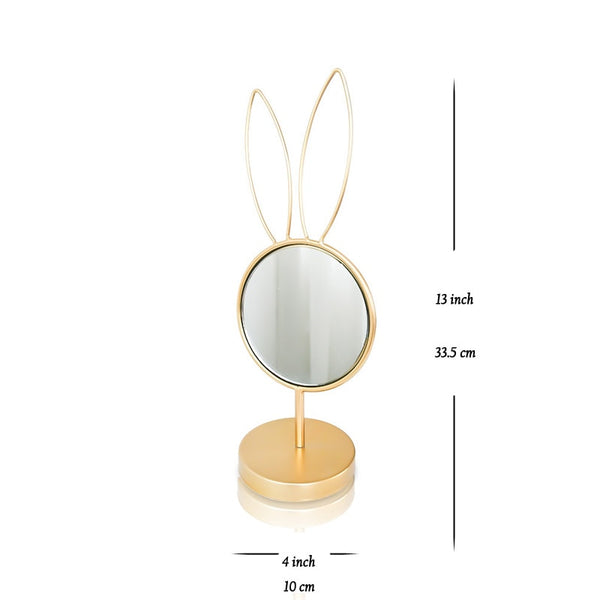 Creative eye/rabbit shaped makeup mirror