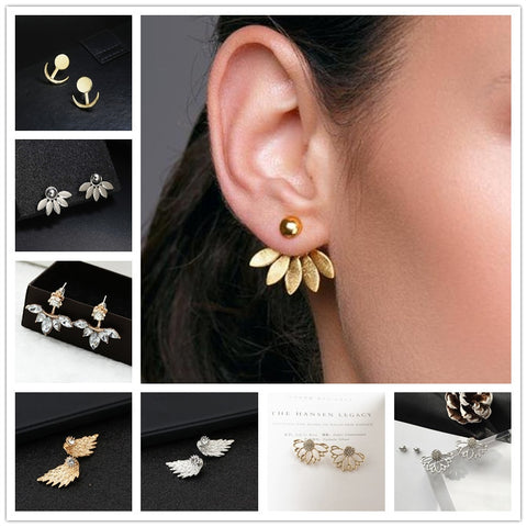 Earrings Gold and Silver color