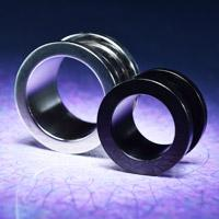 steel plugs and tunnels