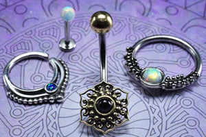 Tribal Style Body Piercing Jewellery