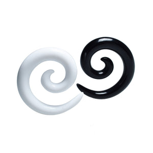 Black or White Ear Spiral