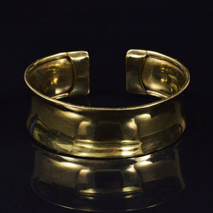 Tribal Brass Cuff Bangle