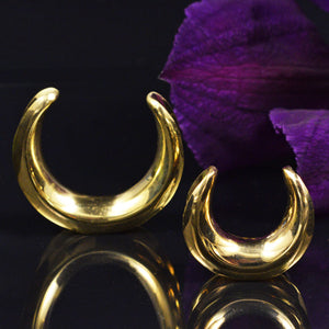 Ear Saddles in Brass