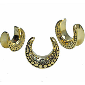 Ear Saddle Plugs with Dots Design