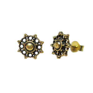 Tribal Dot Stud Earrings