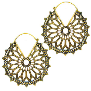 Tribal Mandala Earrings