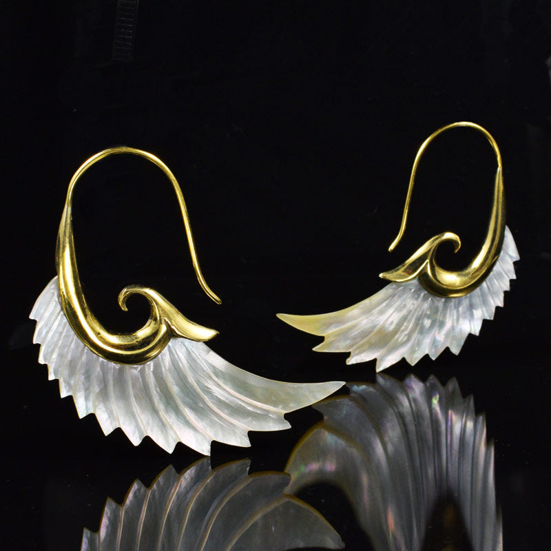 Seraphim Wing Earrings