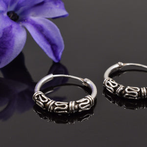 Bali Hoop Earrings Nikita