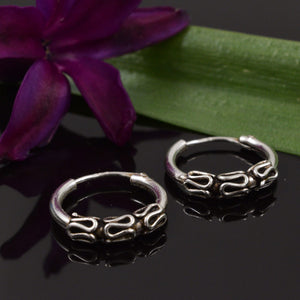 Bali Hoop Earrings Sirano