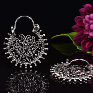 Silver Earrings 'Ajwa'