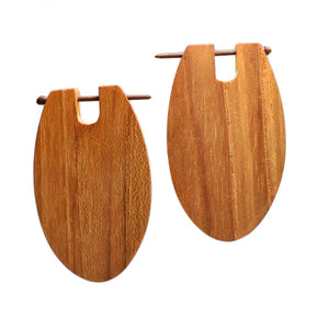Teak Earrings