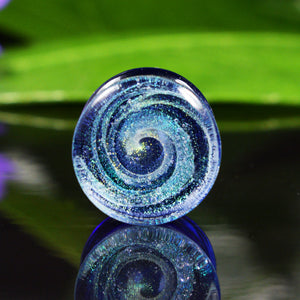 Dichroic Glass Whirlpool Plugs