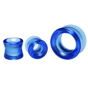 Blue Glass Flesh Tunnels