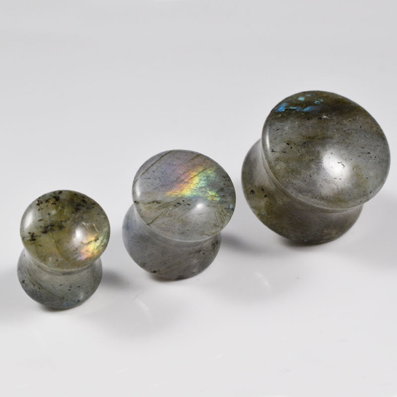 Labradorite Flesh Plugs