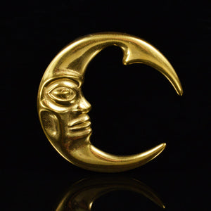 Golden Moon Ear Weights