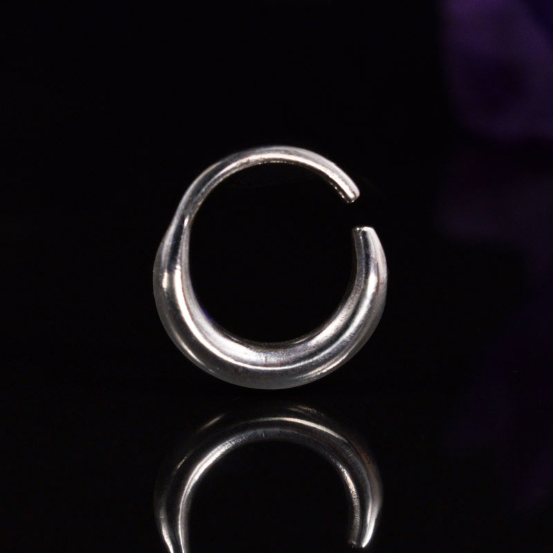 Plain Silver Septum Ring