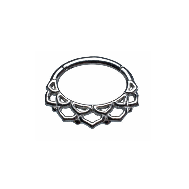 Lotus Clicker for Septum or Daith
