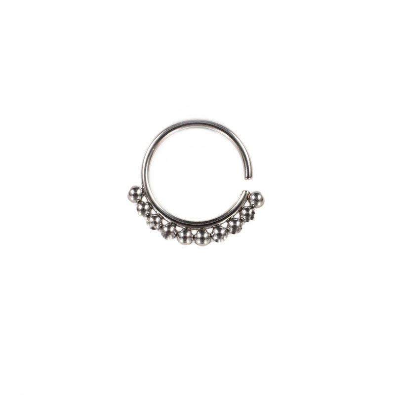 Twist Ring with Tribal Dots