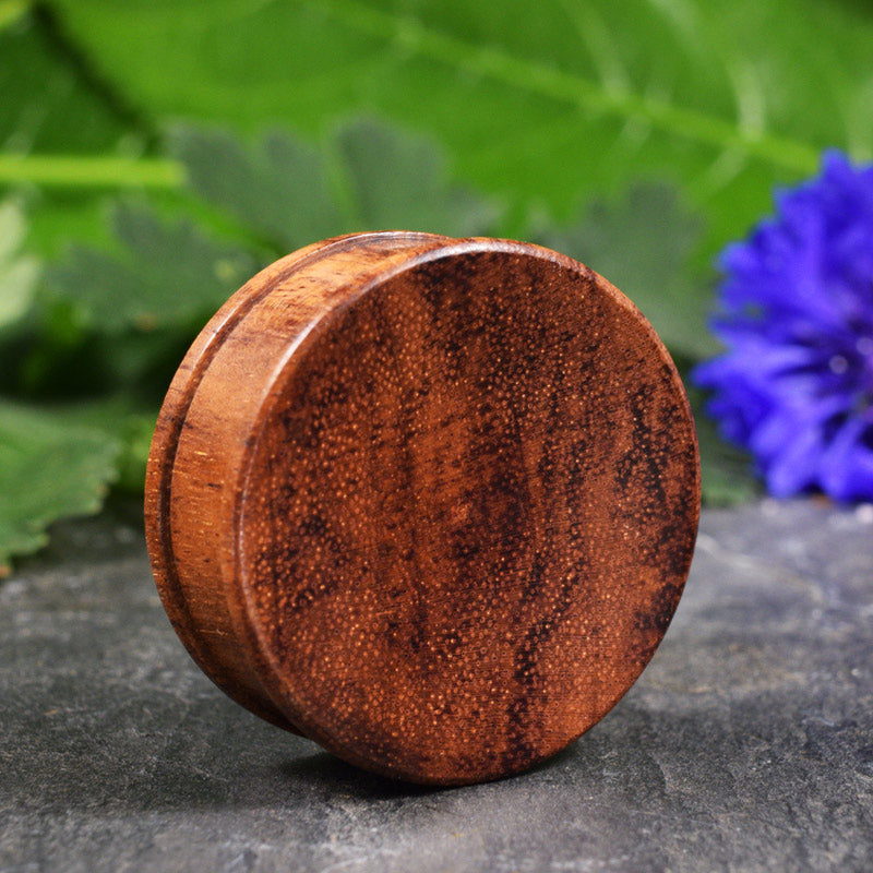 Wooden Plugs with Concave Face