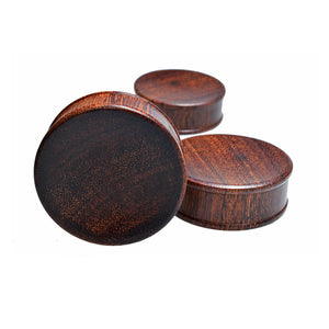 Large Wooden Flesh Plugs