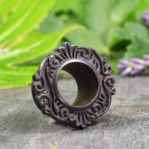 Antique Tibetan Style Wooden Ear Tunnels