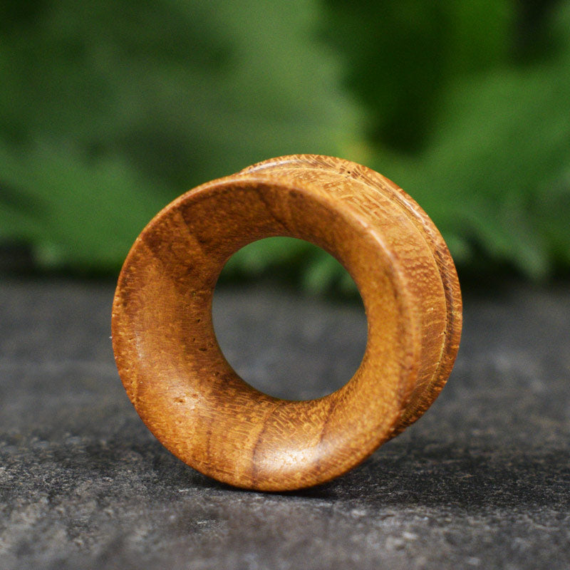 Teak Wood Ear Tunnels