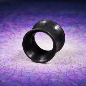 Earskins, Silicone Tunnels in Black