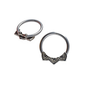 Mandala BCR Captive Bead Ring