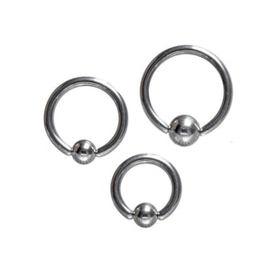 Steel BCR Ball Closure Ring 1.6mm