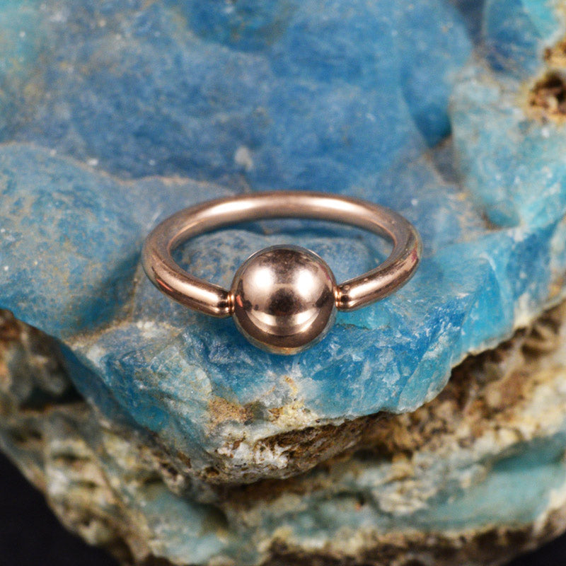 Rose Gold PVD BCR 1.2mm
