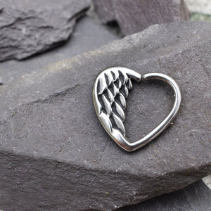 Angels Wing Daith Ring