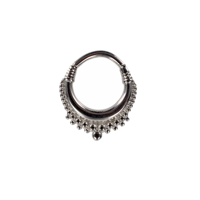 Hinged Segment Ring 'Indian Cascade'