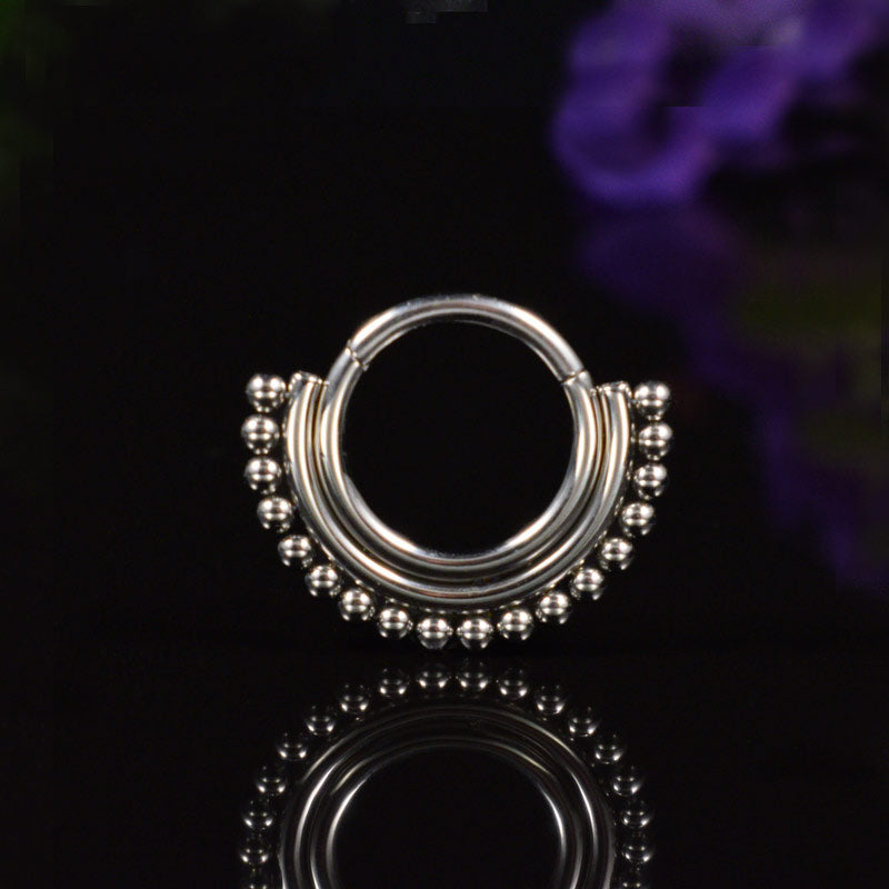 Hinged Segment Ring 'Ranisar'