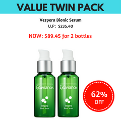 Exuviance Vespera Bionic Serum Value Twin Pack (62% OFF)