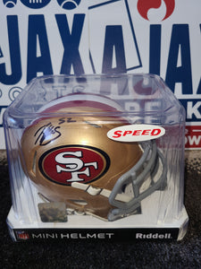 Patrick Willis Signed Riddell San Francisco 49ers Speed Mini-Helmet (TriStar Cert.)