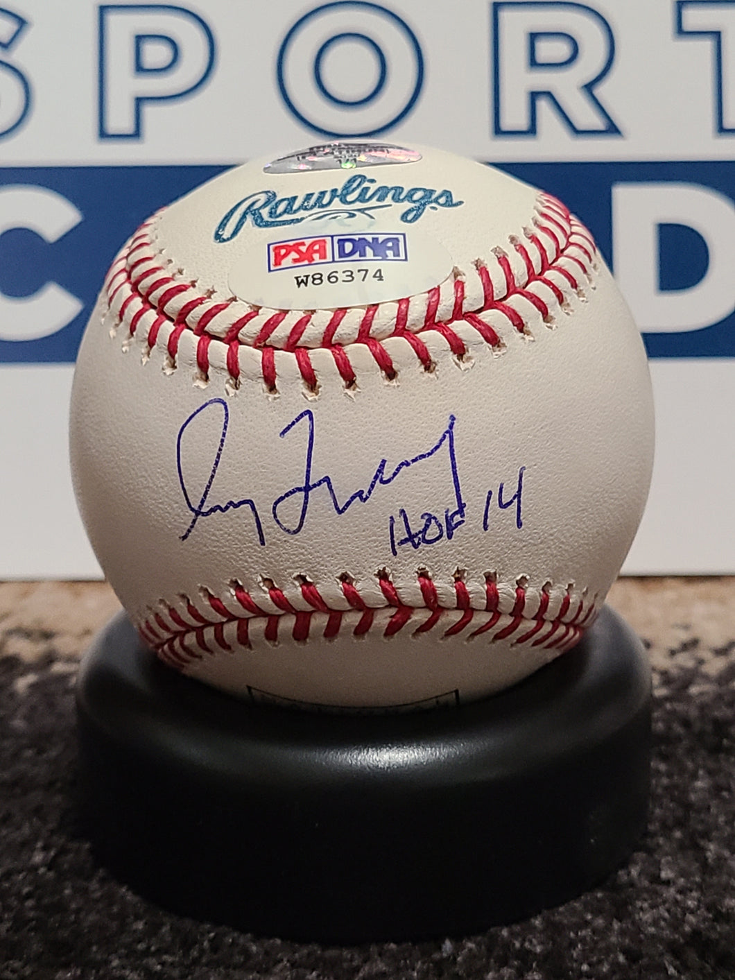 Greg Maddux Signed National HOF Baseball (PSA Cert) Serial #'d 1/1!!