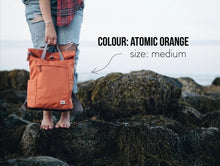 Load image into Gallery viewer, ROKA Sustainable Rucksack, Orange